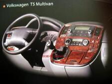 Cabina di pilotaggio DECORO VW t5 Multivan CLIMATRONIC ab Bj. 2003-2009 radice look 22 PEZZI NUOVO