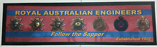 Royal Australian Engineers Bar Mat - Great for the Man Cave! - RAE Sappers