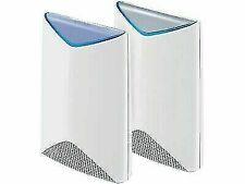 NETGEAR SRK60100NAS Orbi Pro AC3000 Tri Band Whole Home Wi-Fi System -2 Pieces - White