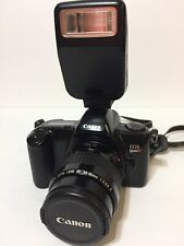 Canon EOS Rebel X 35mm Camera w/ EF 35-80mm Lens & speedlite 200E TESTED NICE