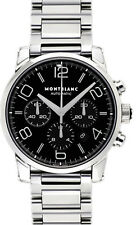9668 | BRAND NEW MONTBLANC TIMEWALKER CHRONOGRAPH BLACK DIAL 43MM MEN'S WATCH
