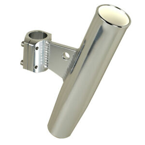"C.E. Smith Aluminum Clamp-On Rod Holder Vertical 1.66"" OD 53725"