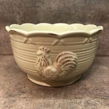 Provincial Garden by Lenox Rooster Bowl Rare