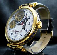 HENRY GRANDJEAN Luxury Men's Gift Deco Large Watch Antique 1830s Chronometer