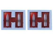 "Hornady, 2 Hornady Red ""H"" Transfer Stickers, mfg 98013"
