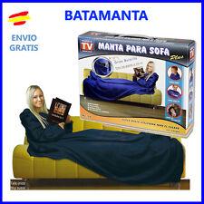 BATAMANTA MANTA polar con MANGAS  Bata SILLON sofa o cama Visto en TV