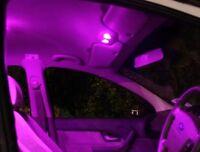 Quality PINK Ford Falcon AU BA BF FG XR6 XR8 FPV LED Interior Map Reading Lights