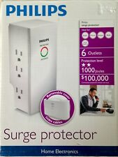 Philips SPP3060Y/17 Home Electronics Surge Protector **BRAND NEW**