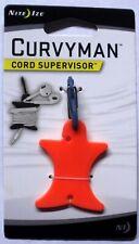 Nite Ize Curvyman Orange Cord Supervisor Headphone Winder CVM-03-19 NEW