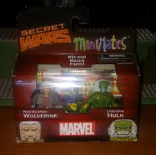 Marvel Minimates Wastelands Wolverine & Dystopia Hulk Series 21 Toys-R-Us New