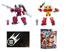 Transformers Titans Return Power of the Primes Repugnus & Grotusque Mint in Box