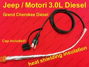 2014-2019 JEEP 3.0L DIESEL ENGINE BLOCK HEATER CORD GRAND CHEROKEE Motori 3.0L