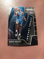 2019-20 Panini Prizm Basketball: Darius Bazley Rookie Card - Instant Impact