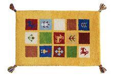 Handmade Room Door Mat Floor Carpet Wool Rug Entrance Mat 40 x 60 CM Welcome Mat