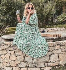 ZARA WOMAN NEW FLORAL PRINT DRESS 4786/070 SIZE S
