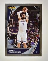 2020-21 NBA Sticker and Card Collection Base Silver Card #3 Jonas Valanciunas