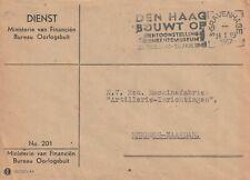 Dienst  201, Bureau Oorlogsbuit Ministerie van Financien 1947