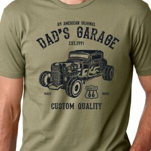 Dad's Garage American Hot Rod mechanic classic car guy gift CUSTOMIZE T-Shirt