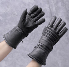 Hatch Leather Guantlet Thinsulate Lined Winter Riding Gloves - Size Small