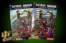 Batman TMNT Adventures #1 Alex Kotkin Keycollectibles VARIANT SET