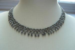 Victorian Cut Steel Necklace
