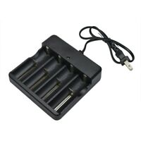 3.7v Smart Universal Charger for 18650 16340 14500 10440 Battery 4 Slot