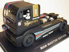 Flyslot Man Tr 1400 Martini Limited Edition fy203305 Slot Car Racing Track 1:3 2