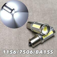 Backup Reverse 1156 BA15S 180° 7506 3497 P21W 33 SMD samsung LED White W1 GM A