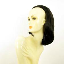 DT Half wig HairPiece extensions dark chestnut brown wick 15.7  REF :21/2