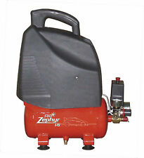 SWP Zephyr 6ltr Air Compressor, Direct Drive 1hp  ideal for mobile use.