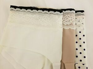No VPL Low Rise Lace Trimmed Shorts/Knickers  x 1 Pair