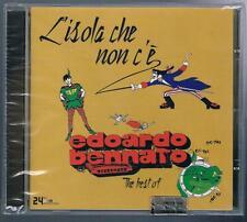 EDOARDO BENNATO L'ISOLA CHE NON...THE BEST OF CD SIGILLATO!!