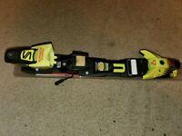 SALOMON DR-9 EQUIPE Downhill Alpine SKI BINDINGS DIN 14 Brakes 75mm 1 UNIT
