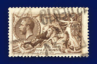 1918 SG414 2s6d Chocolate-Brown Bradbury Wilkinson N65(3) 12DEC 19 GU c.£75 cqbf