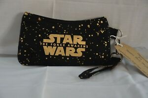 Star Wars A Force Awakens Wrist Bag Pouch With Detachable Strap Handcrafted New