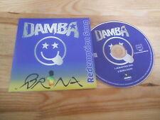 CD Ethno Damba - Redemption Song (2 Song) Promo AGORILA PROD cb