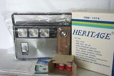 Vintage Heritage TRM-1574 Transistor Radio 3 Band AM FM Marine NIB