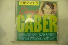 "GIORGIO GABER"" I SUCESSI anni 60'- CD -ALPHA 1993"""