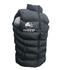 IVECO Sleeveless Jacket Embroidered Logo on Front and Back size M - XXXL