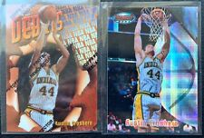 Lot of 2 Austin Croshere 1997-98 Finest Refractor and Bowman's Best Atomic RC