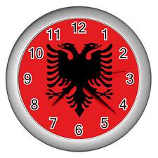 New Albania Albanian Flag for Wall Clock Free Shipping