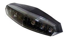 Mini LED Rücklicht Heckleuchte KOSO Universal schwarz Motorrad tail light lamp