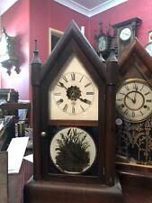 Seth Thomas American Steeple Clock Working Antique Strike
