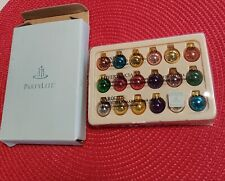 PartyLite Glowing Christmas Tree Magnetic Ornament Set of 18~retired,Rare