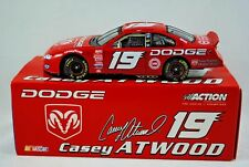 1:24 NASCAR Action Winners Circle DODGE Racing Car in No:19 CASEY ATWOOD Livery