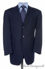 PAL ZILERI SARTORIALE Blue Striped 100% Wool Jacket Pants SUIT - EU 50 / US 40 R