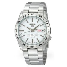 SEIKO 5 SNKD97 SNKD97K1 Automatic 21 Jewels White Dial Stainless Steel Men Watch