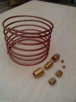 "Tractor Oil Pressure Gauge Copper Line Kit - 6 ' 1/8"" line"