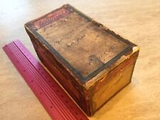 Longines vintage watch box 1920s
