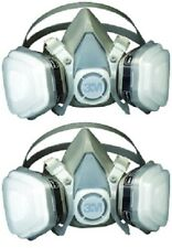 3M 07193 Dual Cartridge Respirator Assembly Organic Vapor, Large (2 PACK)